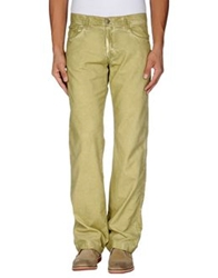 Massimo Alba Casual Pants Acid Green