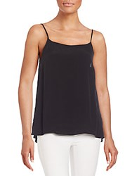 1.State Solid Sleeveless Top Rich Black