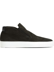 National Standard Slip On Hi Top Sneakers Black