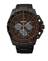 Seiko Prospex Black Stainless Steel Watch