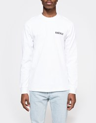 Rascals' High Neck Ls Tee White