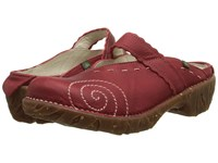 El Naturalista Yggdrasil N096 Tibet 1 Women's Clog Shoes Red