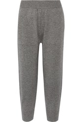 Michael Kors Collection Cashmere Track Pants Gray