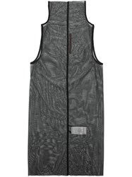 Rick Owens Lilies High Neck Tank Top Black