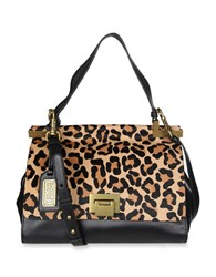 Badgley Mischka Chantel Wild Tiger Crossbody Bag Leopard