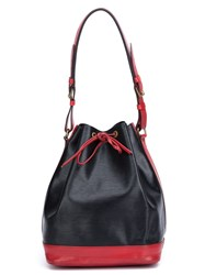 Louis Vuitton Vintage 'Noe' Bucket Shoulder Bag Black