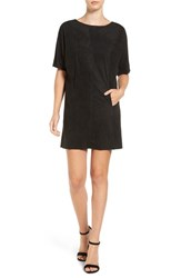 Cupcakes And Cashmere Women's Faux Suede Shift Dress