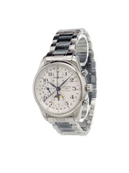 Longines 'Master Collection Gents Xl' Analog Watch Stainless Steel