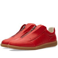 Maison Martin Margiela Maison Margiela 22 Future Low Zip Sneaker Red