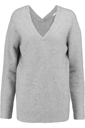10 Crosby By Derek Lam Cashmere Sweater Gray