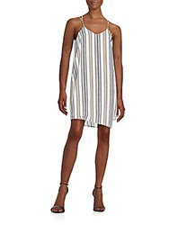 Collective Concepts Striped Shift Dress Multi
