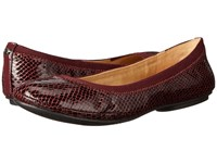 Bandolino Edition Wine Multi Synthetic Women's Flat Shoes Brown