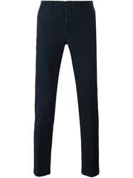 Moncler Classic Chinos Blue