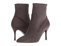 Nine West Cadence 2 Dark Grey Fabric Women's Dress Zip Boots Gray
