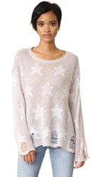 Wildfox Couture Seeing Stars Sweater Lilac Dawn