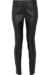 Belstaff Wilson Quilted Leather Leggings Black