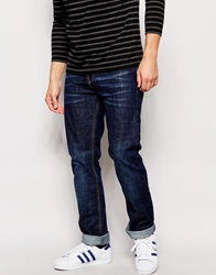 Bellfield Straight Leg Jeans Blue