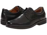 Ecco Holton Plain Toe Tie Black Men's Shoes