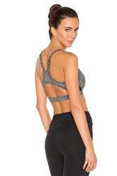 Solow Contort Sports Bra Charcoal