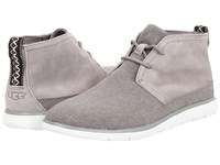 Ugg Freamon Seal Canvas Men's Lace Up Boots Gray
