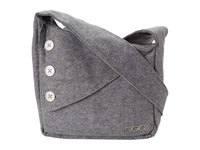 Ogio Brooklyn Purse Light Gray Felt Bags