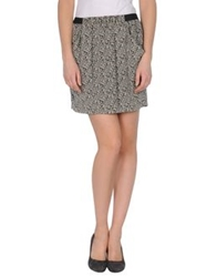 Massimo Rebecchi Knee Length Skirts Light Grey