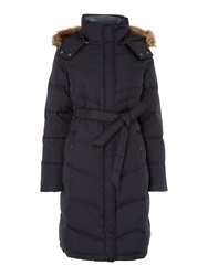 Dickins And Jones Penrose Puffer Coat Navy
