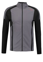 Gore Running Wear Air Sports Jacket Graphite Grey Black