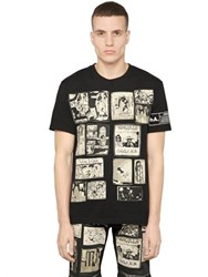 Haculla Printed Patches On Cotton Jersey T Shirt