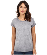 G Star Noiti Straight Short Sleeve Crew Neck Tee In Lyon Jersey Shadow Black Ao Women's T Shirt Gray