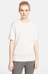 Michael Kors Cotton And Cashmere Tee White