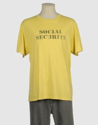Worn By Short Sleeve T Shirts Yellow