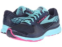 Brooks Launch 3 Peacoat Blue Radiance Pink Glo Women's Running Shoes