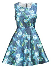 Molly Bracken Cocktail Dress Party Dress Blue