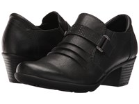 Spring Step Lupe Black Women's Clog Shoes