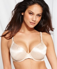 Vanity Fair Body Shine Floral Full Coverage Underwire Bra 75297 Damask Neutral