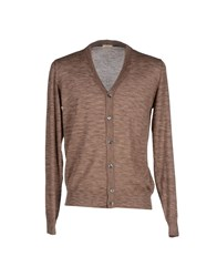 Altea Knitwear Cardigans Men Light Brown