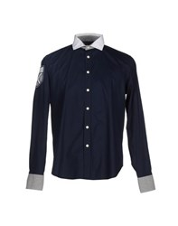 Etiqueta Negra Shirts Shirts Men Dark Blue