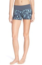 Women's Zella 'Haute Fair Game' Slim Fit Shorts Grey Graphite Neo Native