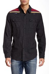 Micros Meadow Navajo Patch Flannel Shirt