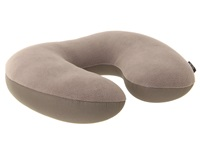 Eagle Creek 2 In 1 Travel Pillow Charcoal Wallet Gray