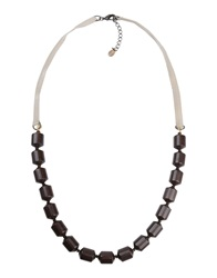 Marina Rinaldi Necklaces Dark Brown