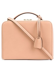 Mark Cross Small Crossbody Bag Nude And Neutrals