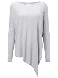 Phase Eight Melinda Asymmetric Top Silver