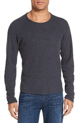 Billy Reid Men's 'Mason' Reversible Long Sleeve T Shirt Navy