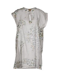 Alviero Martini 1A Classe Shirts Kaftans Women Light Grey