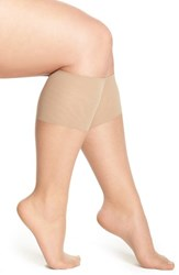 Plus Size Women's Berkshire Sheer Knee Highs Beige City Beige