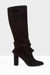 Paul And Joe Lola Suede Boots Black
