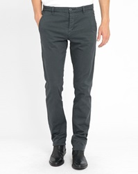 Ikks Grey Micro Pattern Chinos