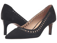 Franco Sarto Diane Black Suede Women's Shoes